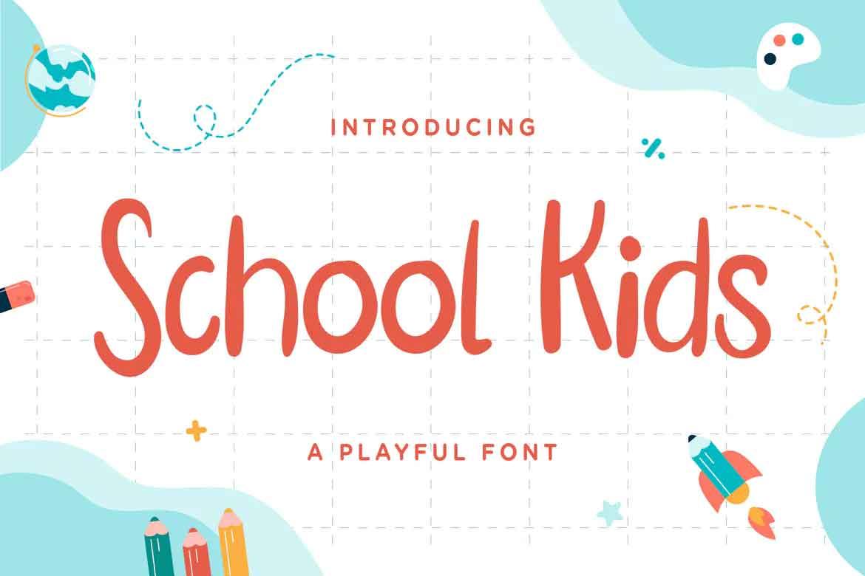 School Kids Font