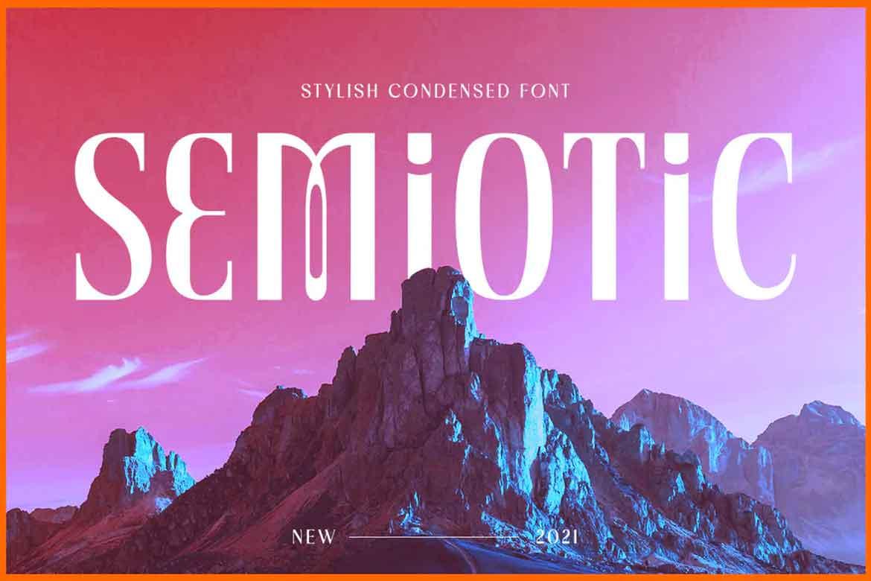 Semiotic Font