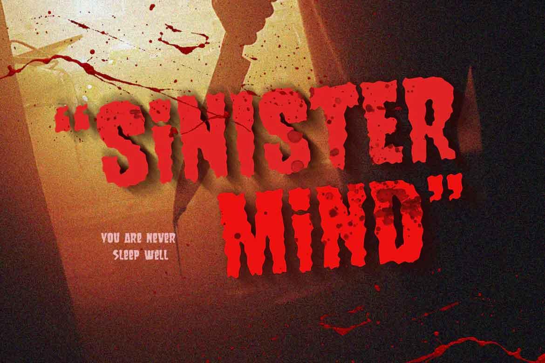 Sinister Mind Font