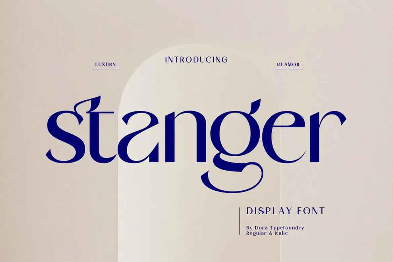 Stanger Font