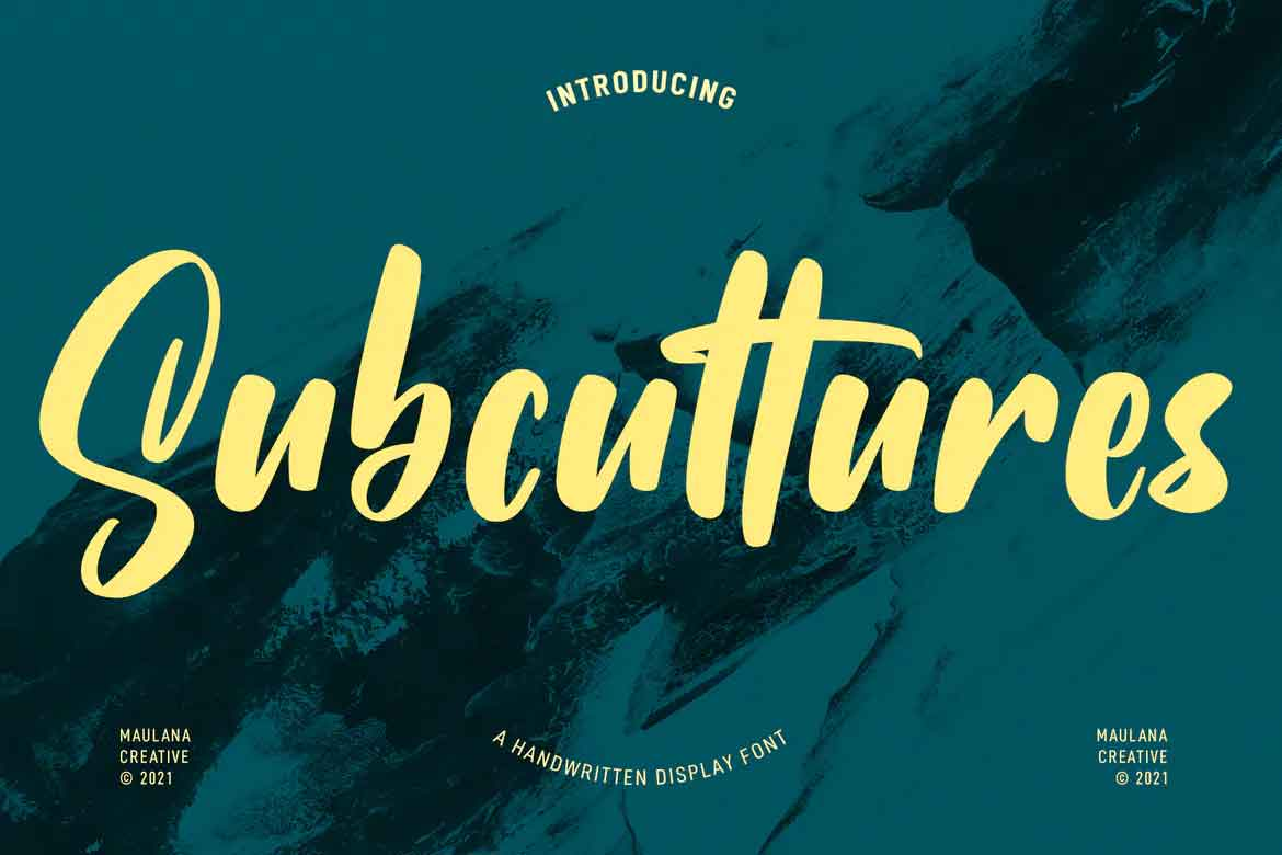 Subcultures Font