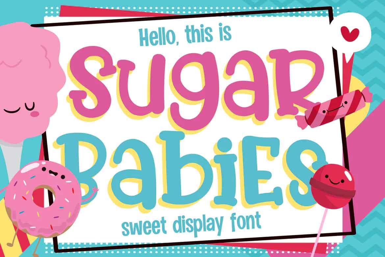 Sugar Babies Font