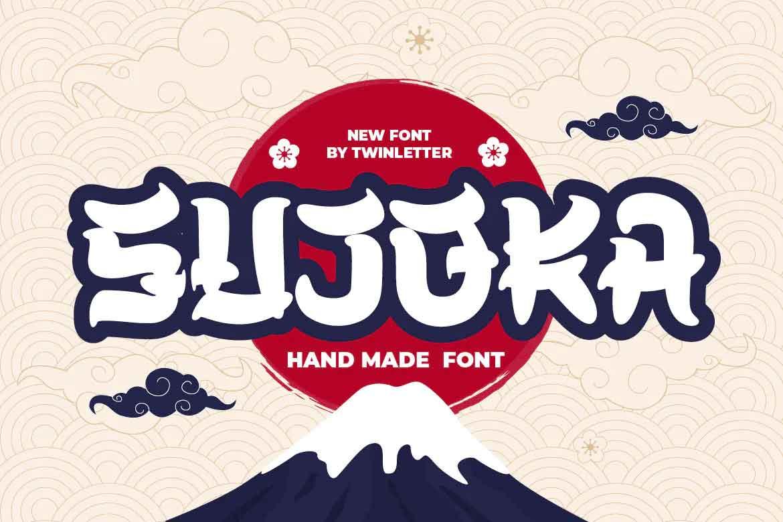 Sujoka Font