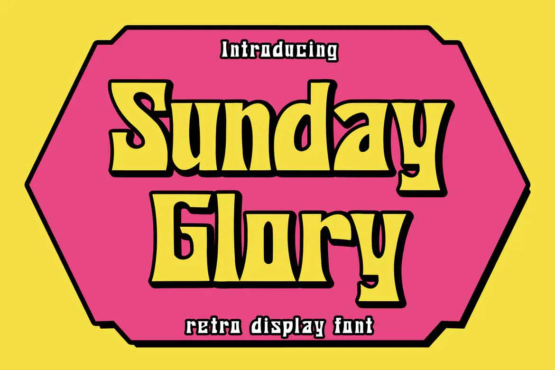 Sunday Glory Font