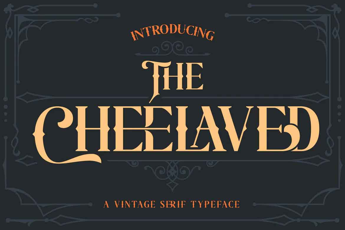 The Cheelaved Font