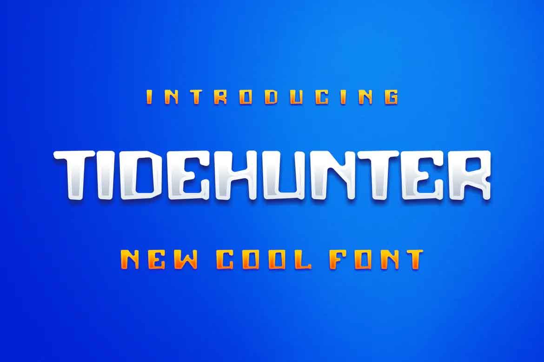 Tidehunter Font