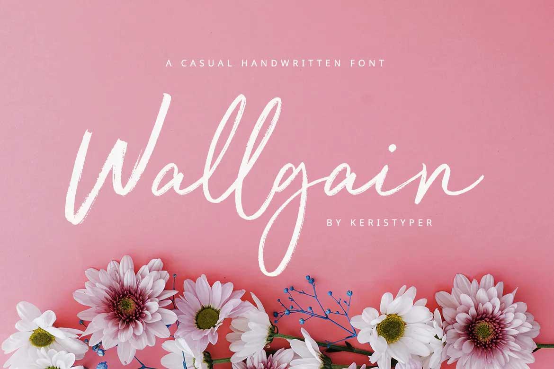 Wallgain Font