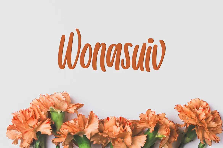 Wonasuiv Font
