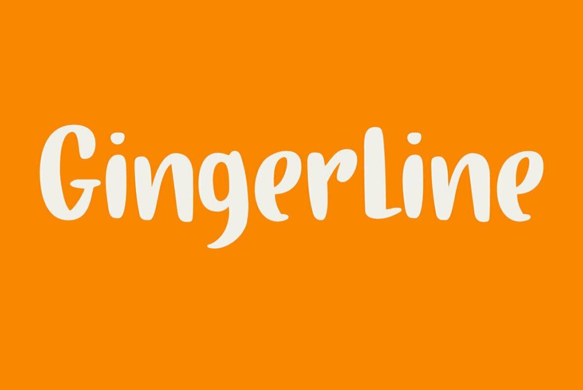 Gingerline Font