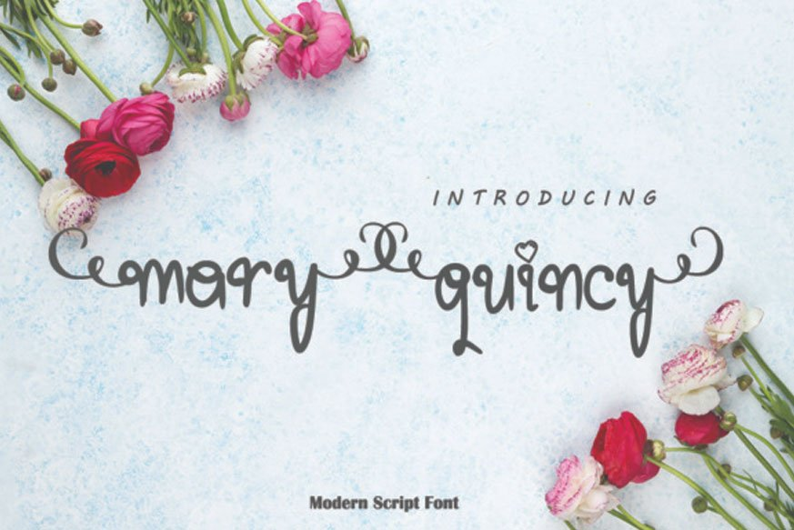 Mary Quincy Font