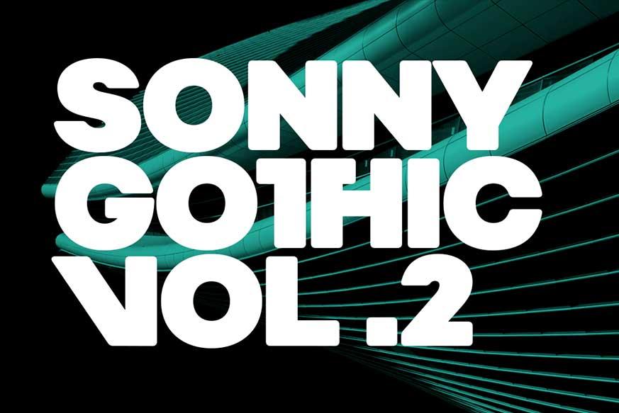 Sonny Gothic Vol 2 Font