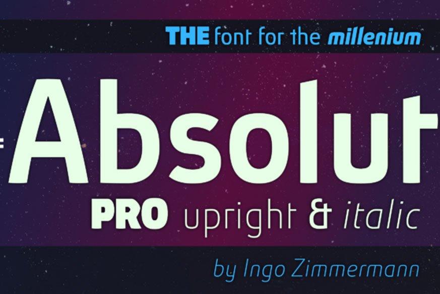 Absolut Pro Upright & Italic