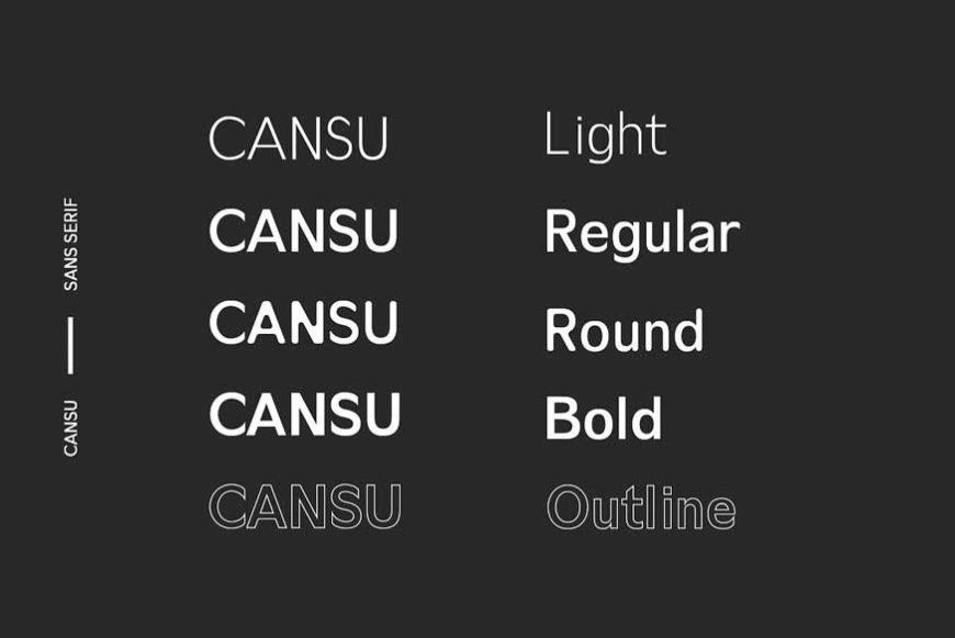 Cansu Sans Serif Font Family – Download Free Premium Fonts