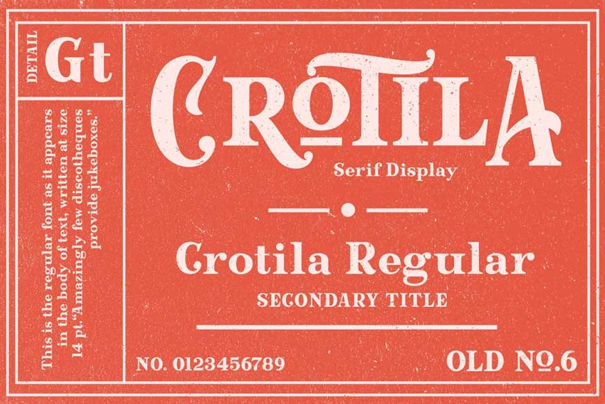 Crotila - Serif Display