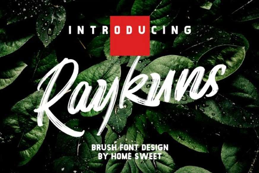 Raykuns Font