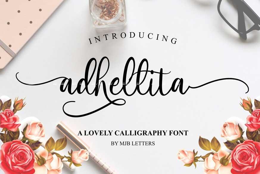 Adhellita Font