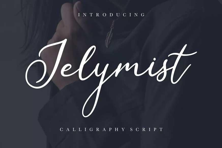 Jelymist Calligraphy Script