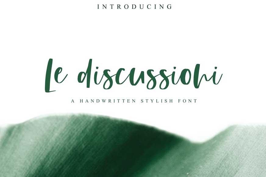Le Discussioni Font