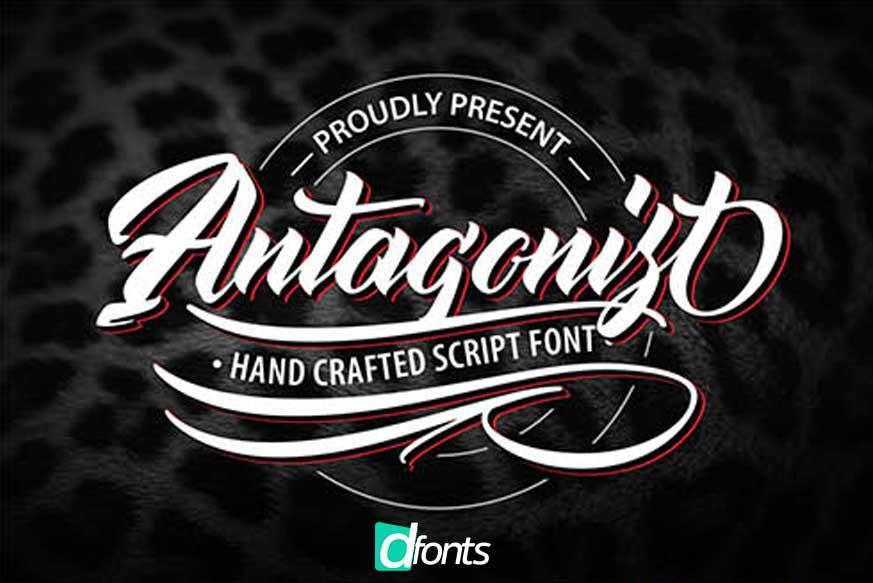 Antagonis Handcrafted Script Font