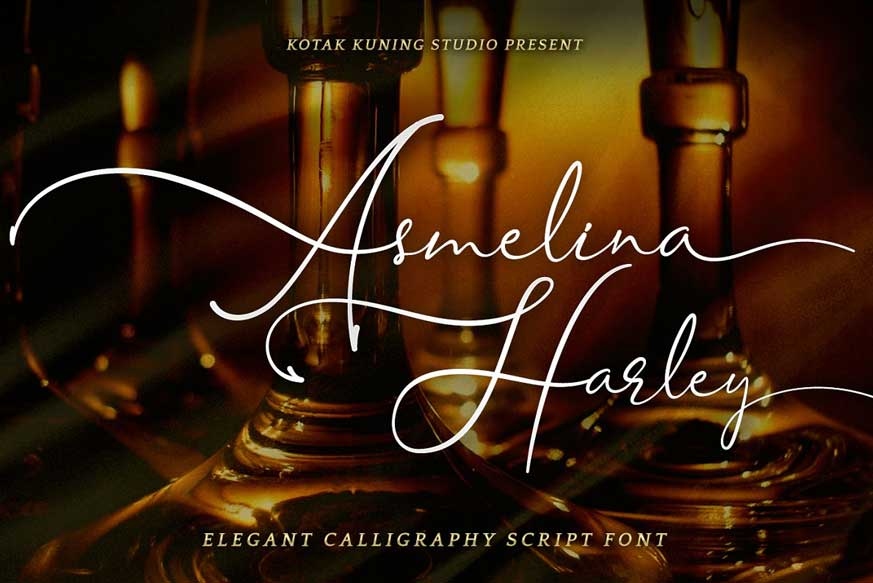 Asmelina Harley Font