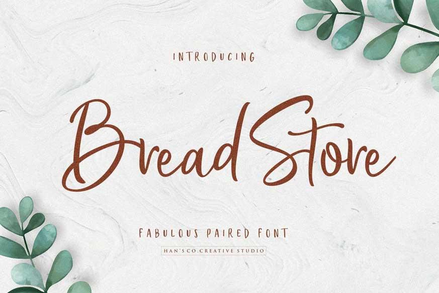 Bread Store Font