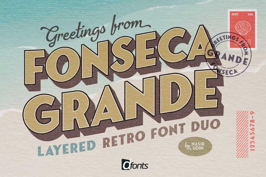 Fonseca Grande Font Family