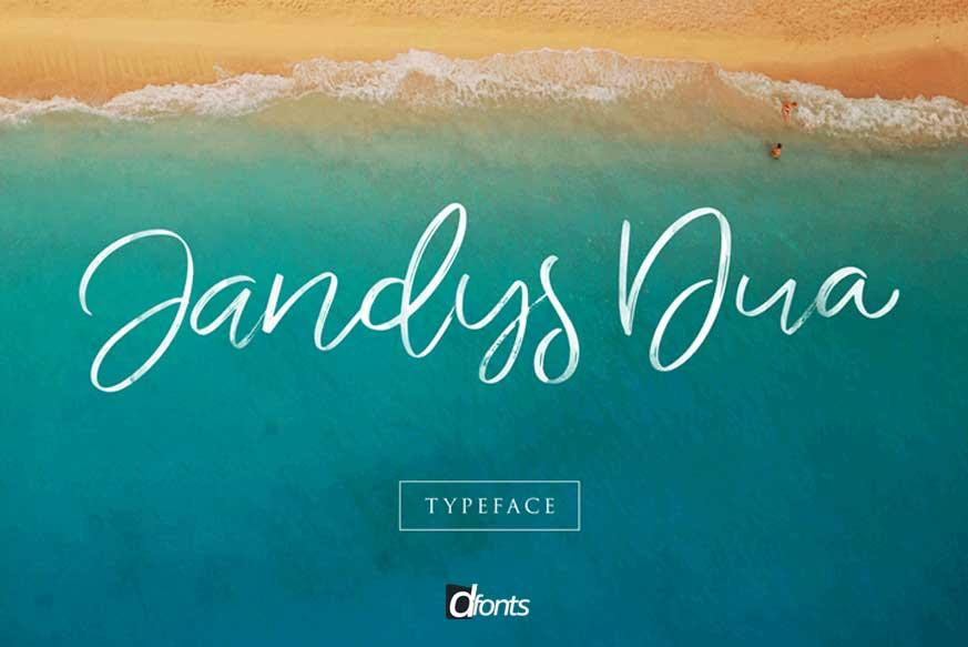 Jandys Typeface