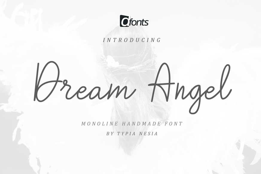 Dream Angle Font