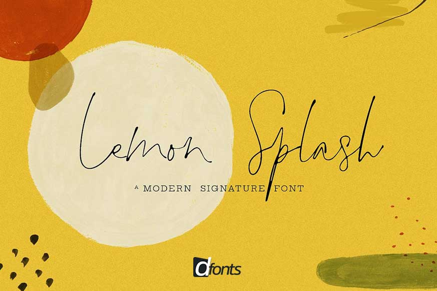 Lemon Splash Font