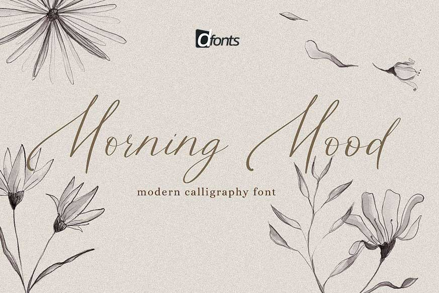 Morning Mood Font