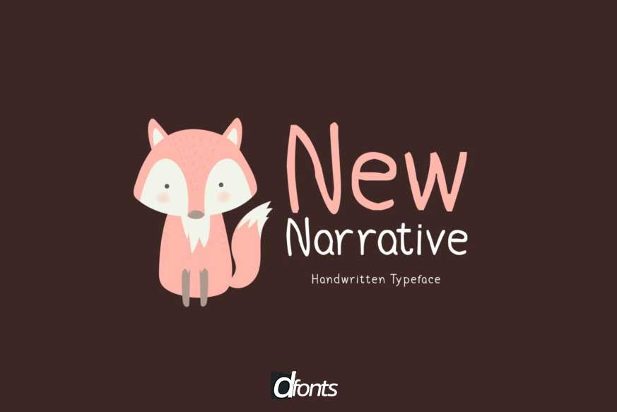 New Narrative Font