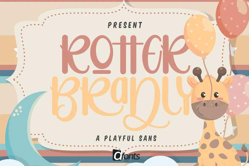 Rotter Bradly A Playful Sans