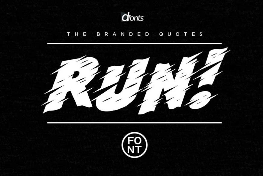 Run! Font + Arcade Text Tutorial