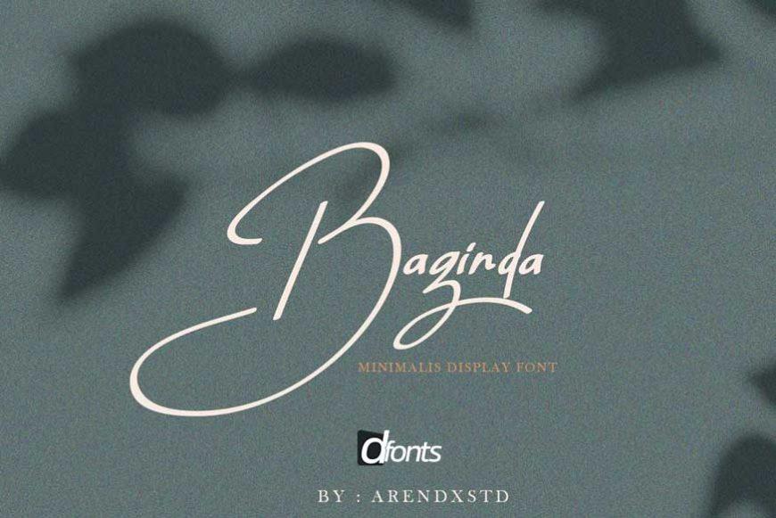 Baginda Font