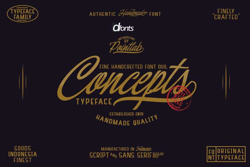 Concepts Font Family