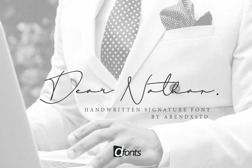 Dear Nathan Font