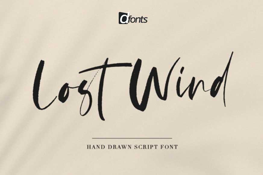 Lost Wind Font
