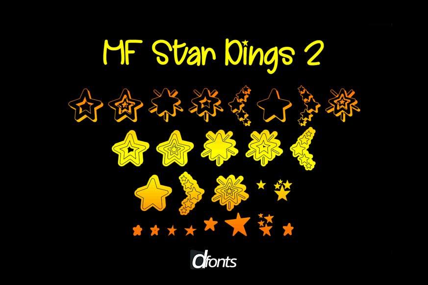 MF Star Dings 2 Font