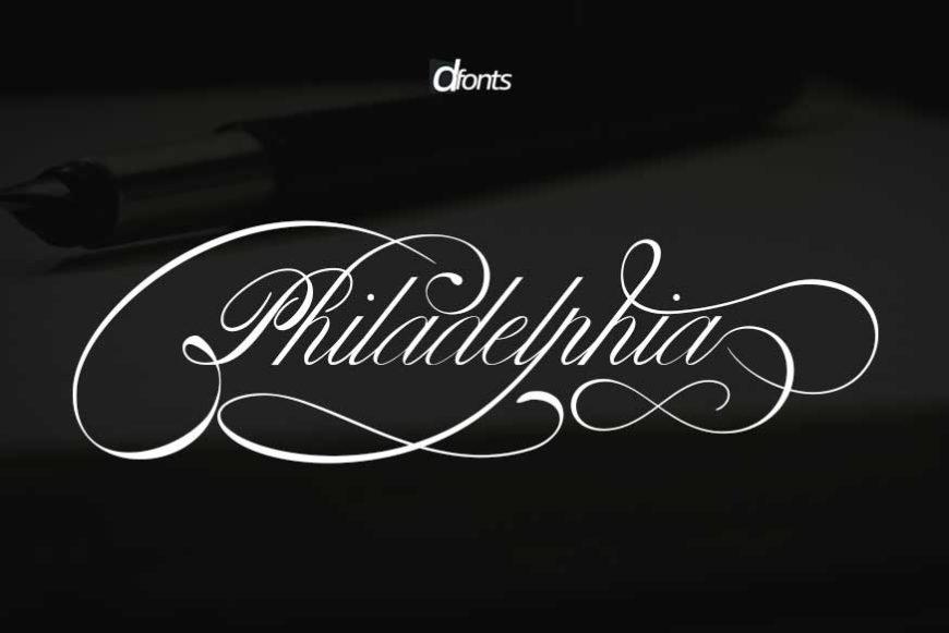 Philadelphia Calligraphy Font
