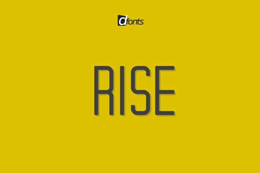 RISE Typeface