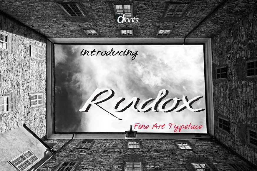 RUDOX Font