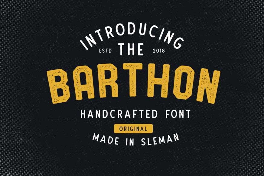 Barthon Typeface Combo