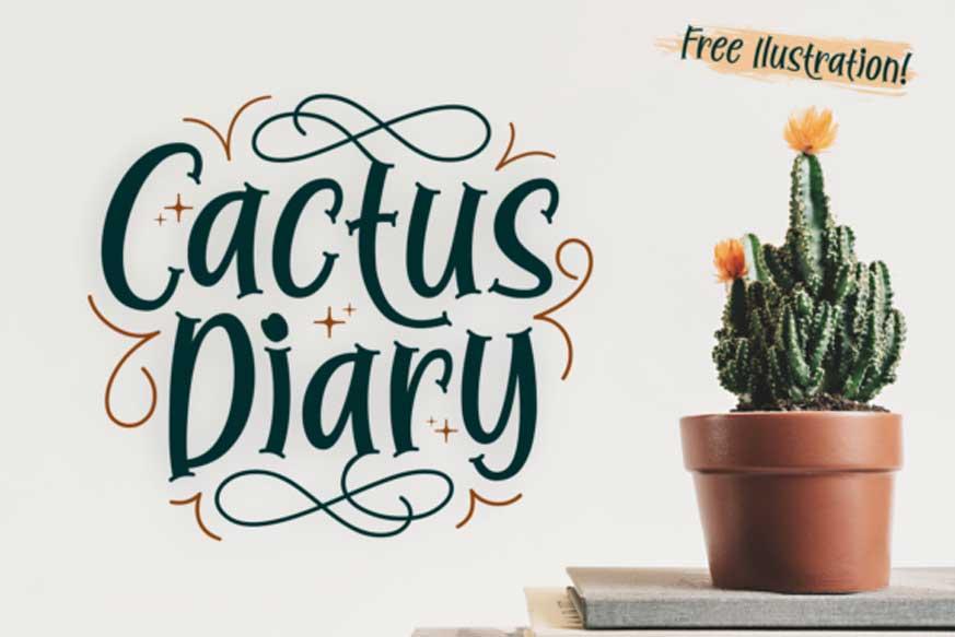 Cactus Diary Font