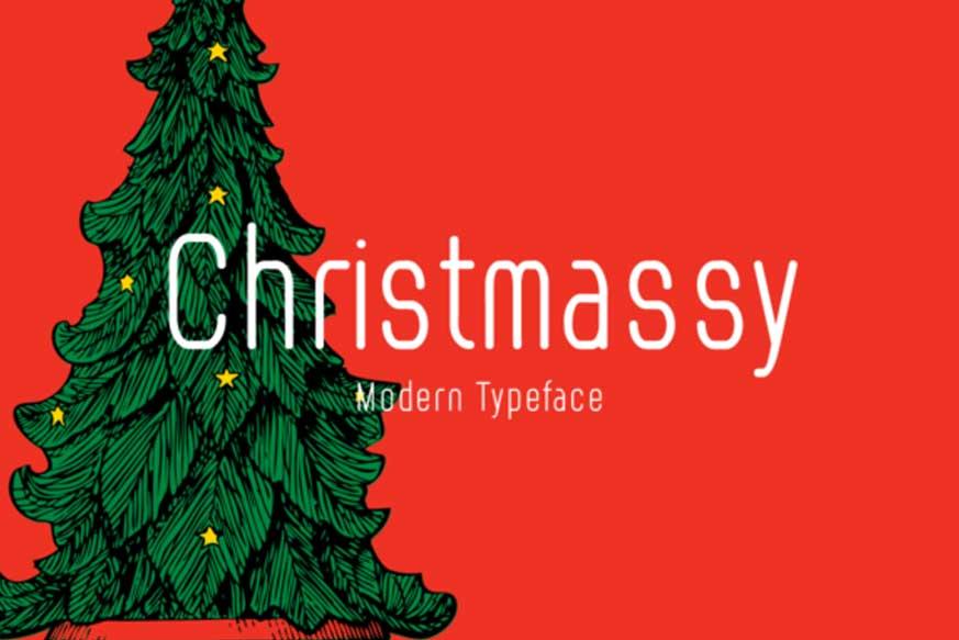 Christmassy Font