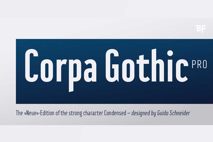 Corpa Gothic™ Pro Font Family