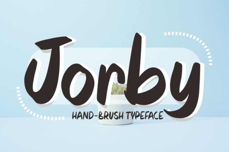 Jorby Font