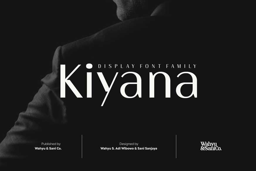 Kiyana - Display Sans Font Family