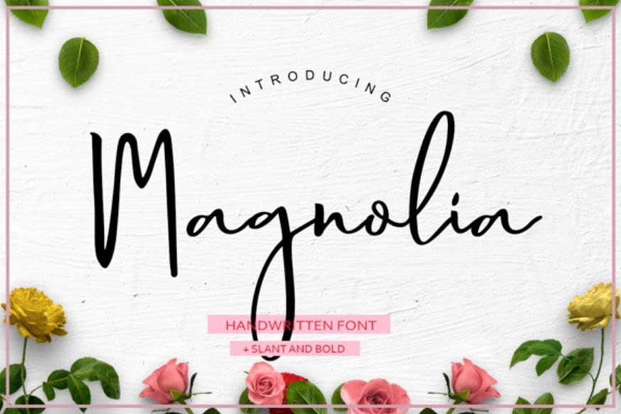 Magnolia Handwritten Font