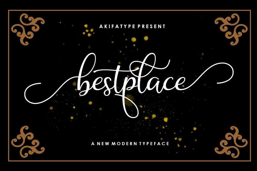 Bestplace Font
