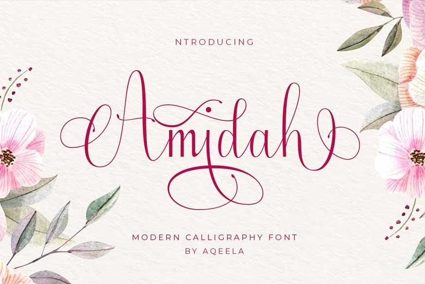 Amidah Font
